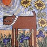 Van Gogh dog