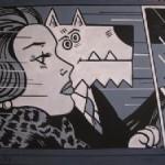 Lichtenstein dog