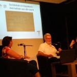 Woordfees 2015 - saam met Madri Victor en Irma Venter.